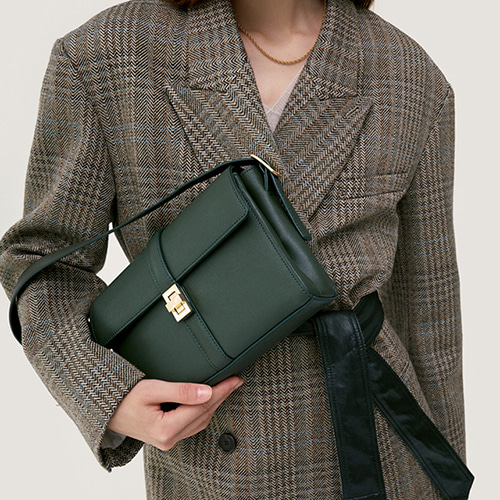 Lady Bag Medium Deep Green  품절