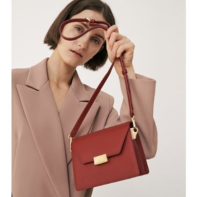 Clever Bag Mini Garnet Red [Special 15%] (정상가 288000원)